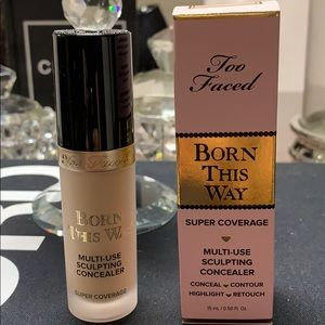 Too Faced Born This Way Super Coverage Seashell